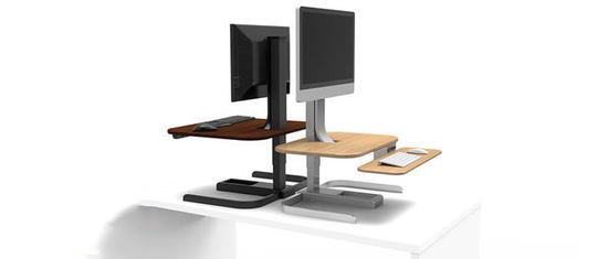 站着工作不腰疼 给办公桌带来自动升降功能