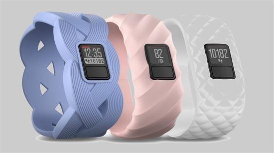 佳明推两款全新智能健身腕带 外观设计花哨
