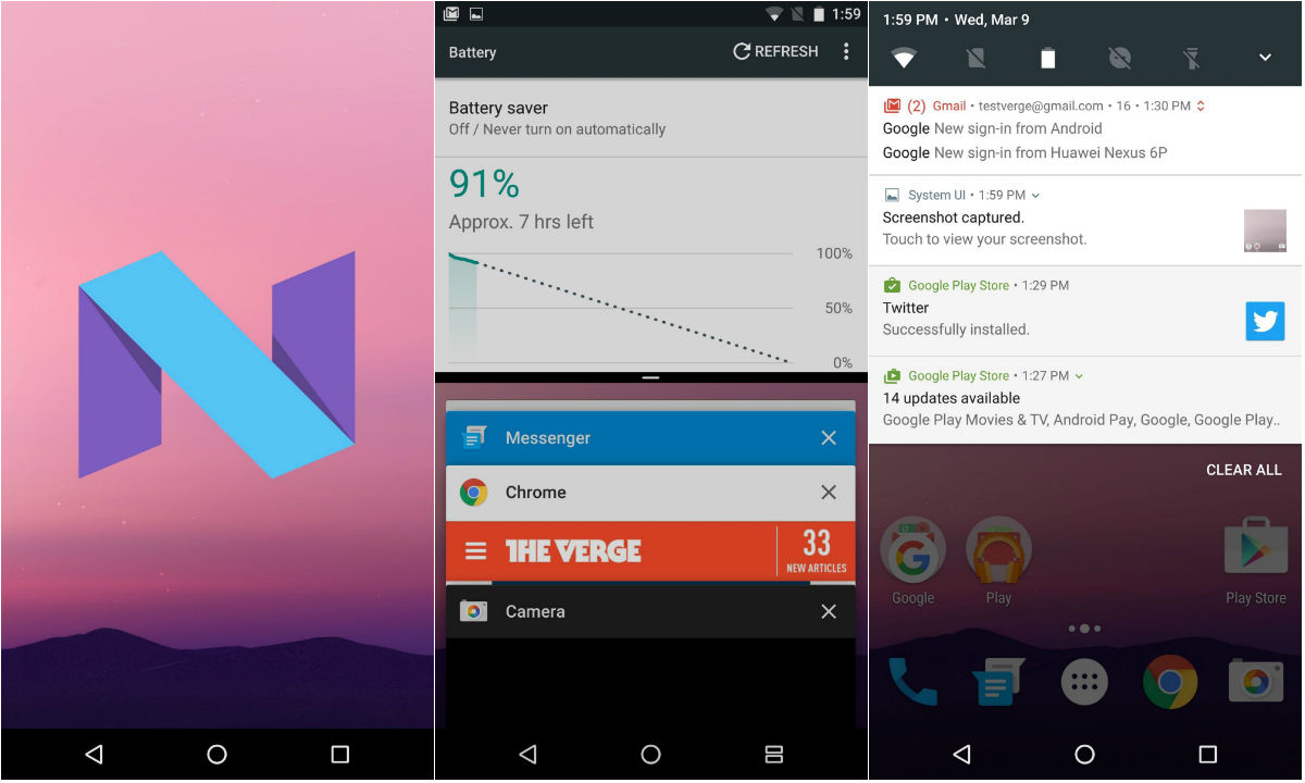 谷歌发布下一代安卓系统!支持分屏多任务