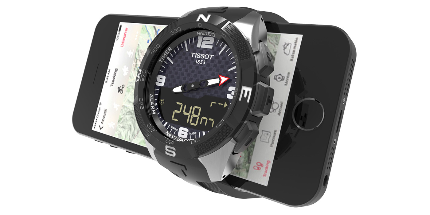 Swatch 的首款真・智能表是挂着天梭品牌的