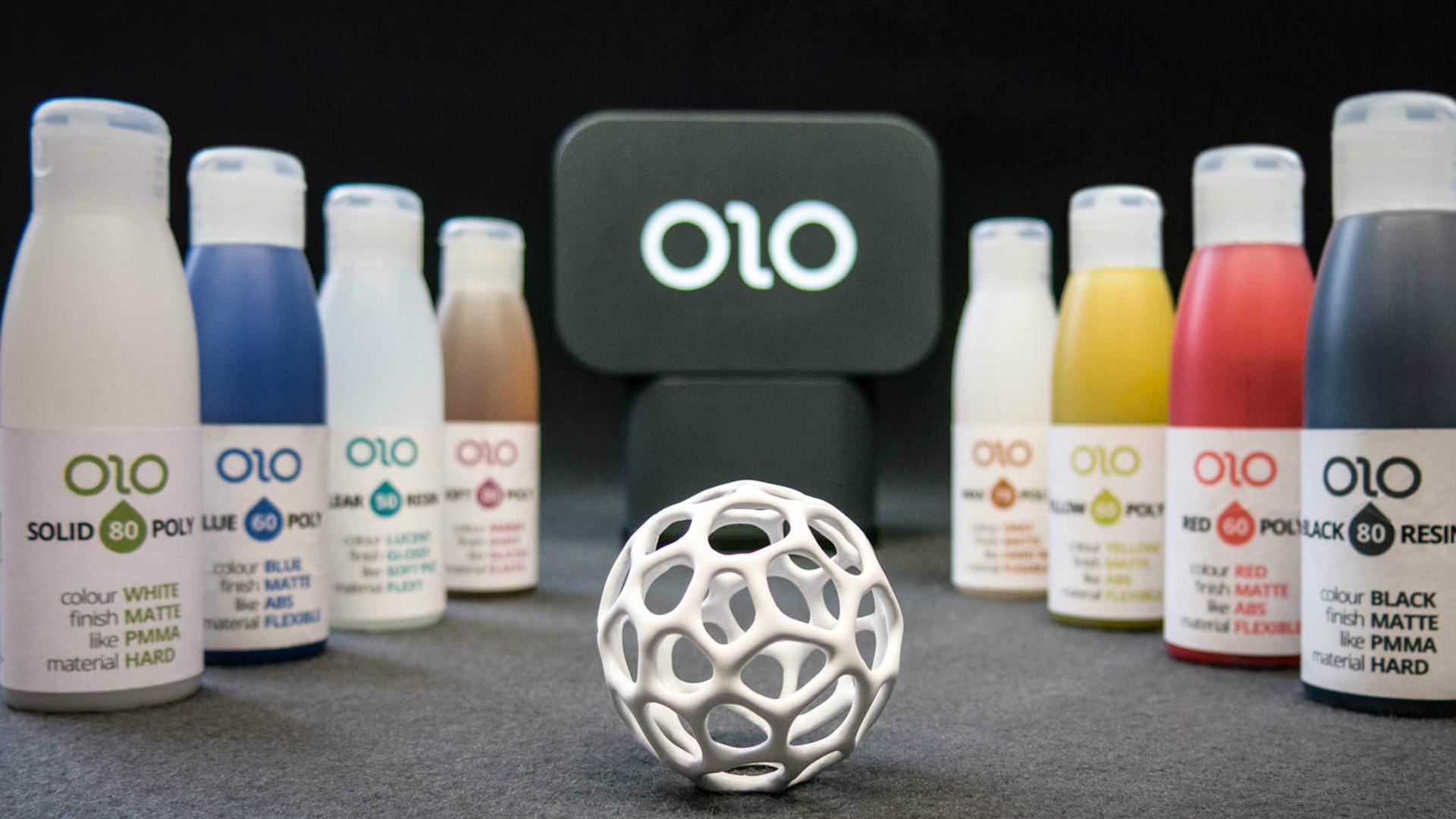 新奇装置OLO:让智能手机秒变3D打印机