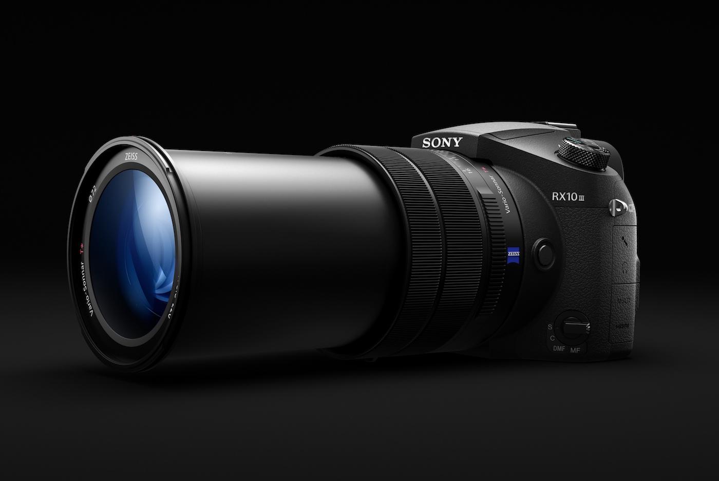 等效 600mm 望远的索尼 RX10M3 現身;FE 50mm f/1.8 定焦与更望远的新镜也登场