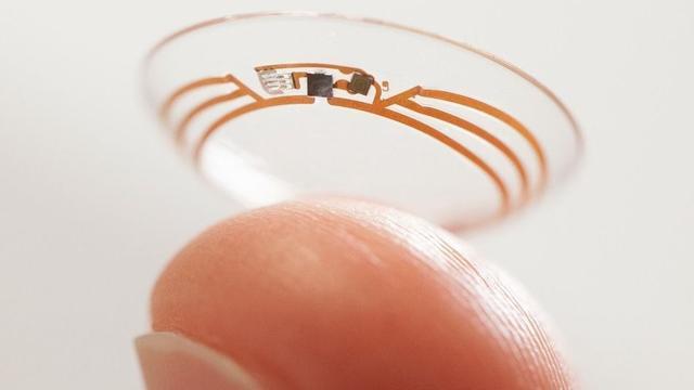 比谷歌的更好 三星智能隐形眼镜眨眼即可控制