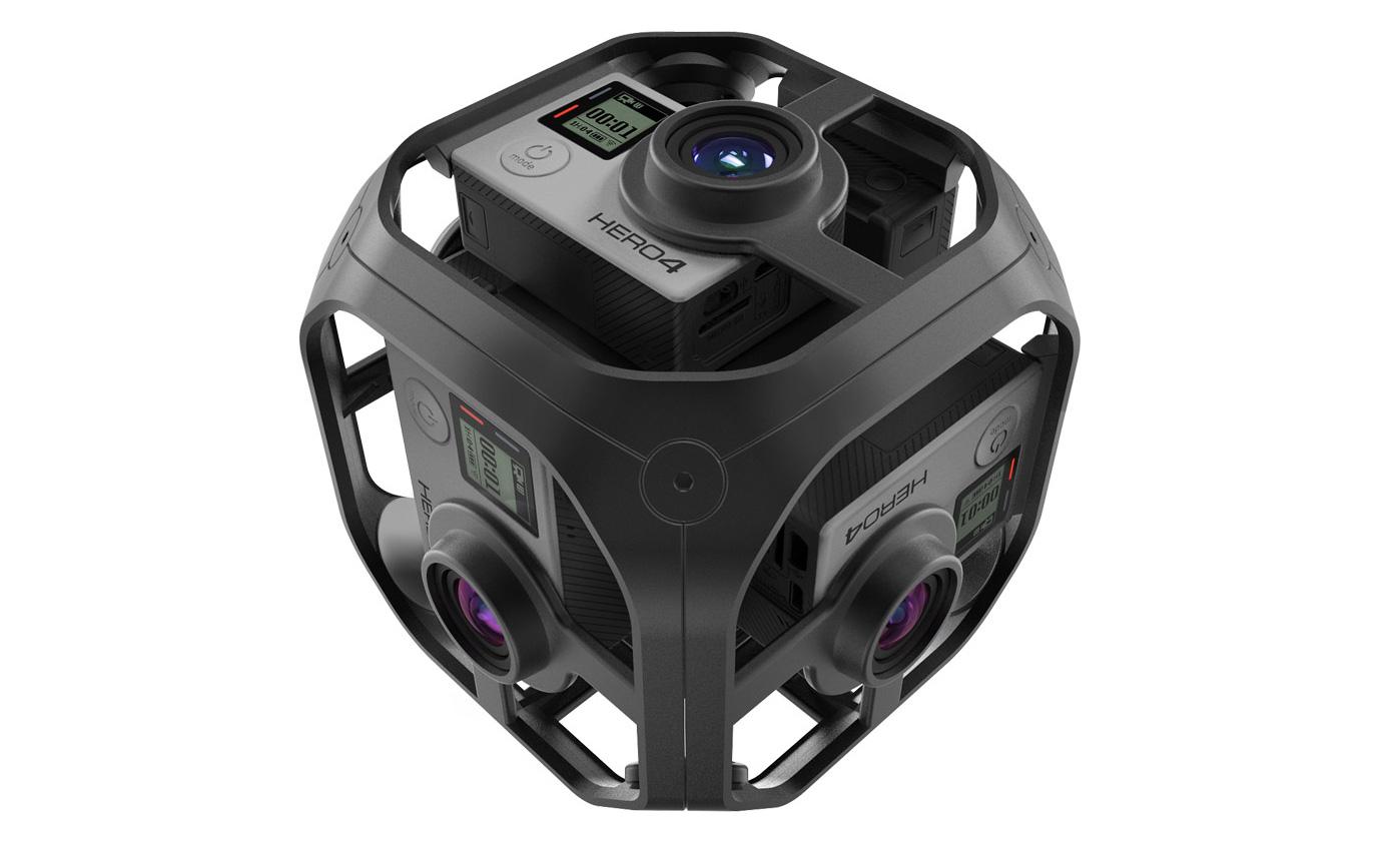 GoPro 的「Omni」VR 拍摄套件抢先看