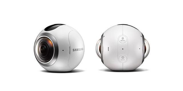 三星Gear 360售价曝光 都是球却比LG贵了一倍