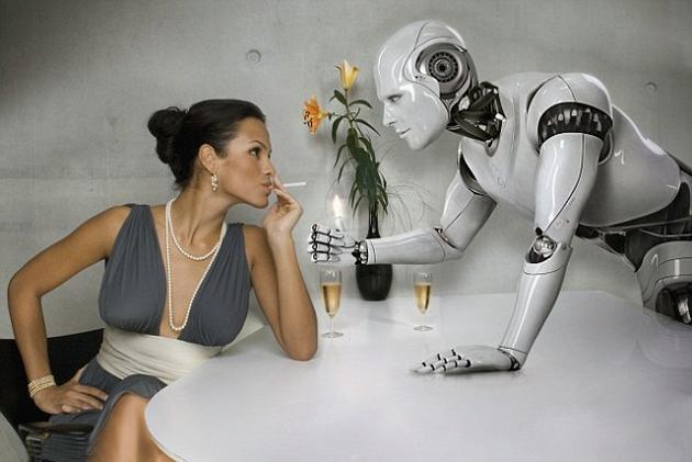 20年后1/4成年人愿意与机器人约会:只要像真实的人