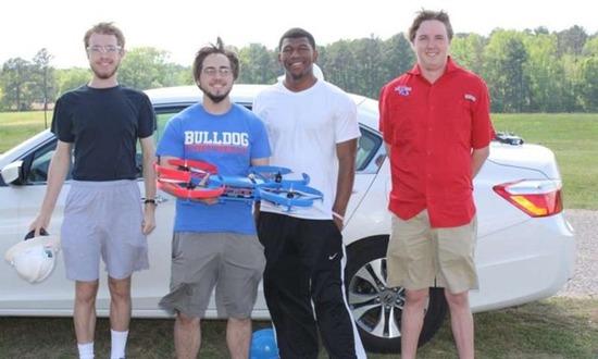 路易斯安那理工大学的学生成功制造3D打印无人机