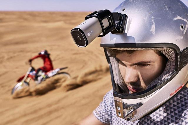 比GoPro更好用 LG的新运动相机能连4G网