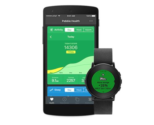Fitbit遇新对手?Pebble智能手表更多能