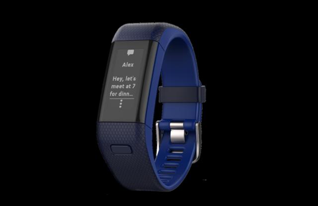 佳明推升级版Vivosmart HR手环 新增GPS功能