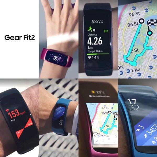 三星Gear Fit 2手环谍照曝光 可能会在6月推出
