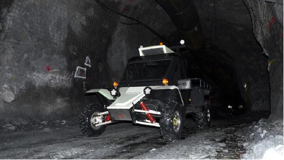 澳大利亚开发第一款电动汽车:用来采矿的
