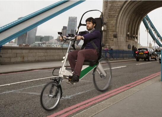 自带安全座椅的自行车亮相 售价约合2.8万人民币