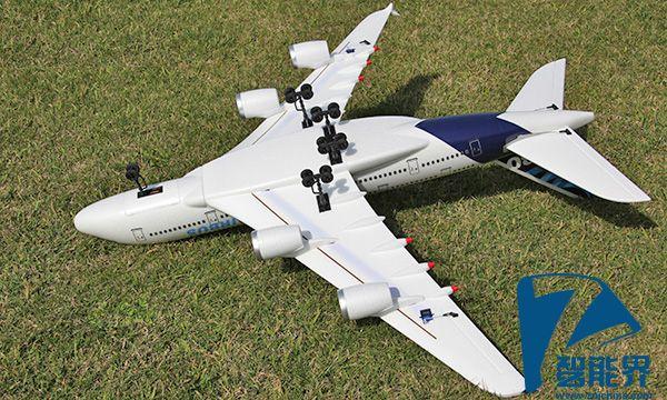 梦830电动遥控纸飞机滑机航模型拼装固定
