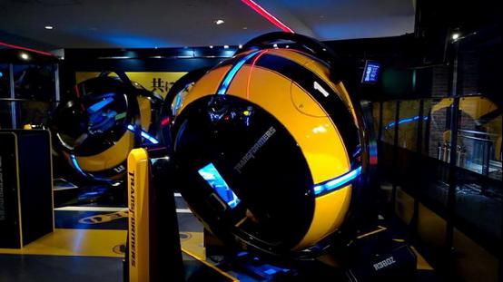 世嘉推出R360街机系统 让你亲自驾驭擎天柱