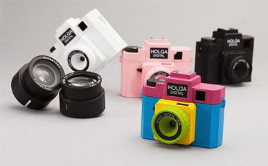 【智能界大百科】有情怀的玩具 Holga Digital相机