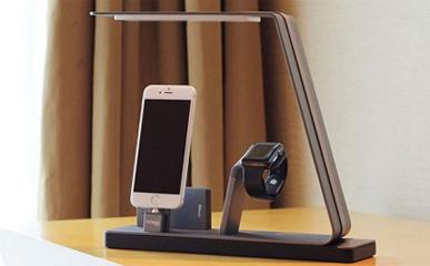 【智能界大百科】带 iPhone 和 Apple Watch 充电底座的 NuDock 台灯