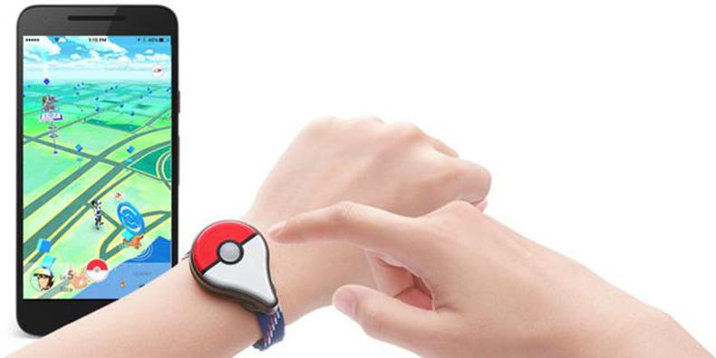 任天堂推Pokemon Go专用可穿戴设备