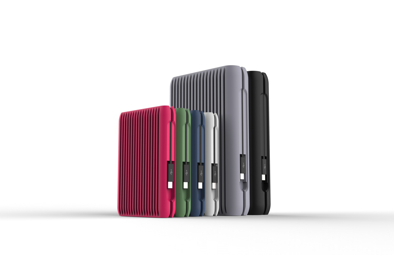 极速传输  ORICO推出首款10Gbps Type-c防震移动硬盘