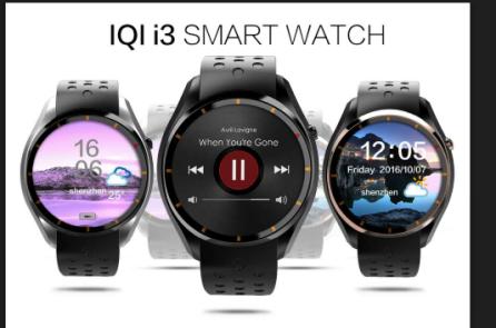 爱奇尔i3智能手表:Smart Wear Smart Life