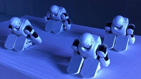 优必选Alpha 1P发布 联合天猫再造机器人爆款