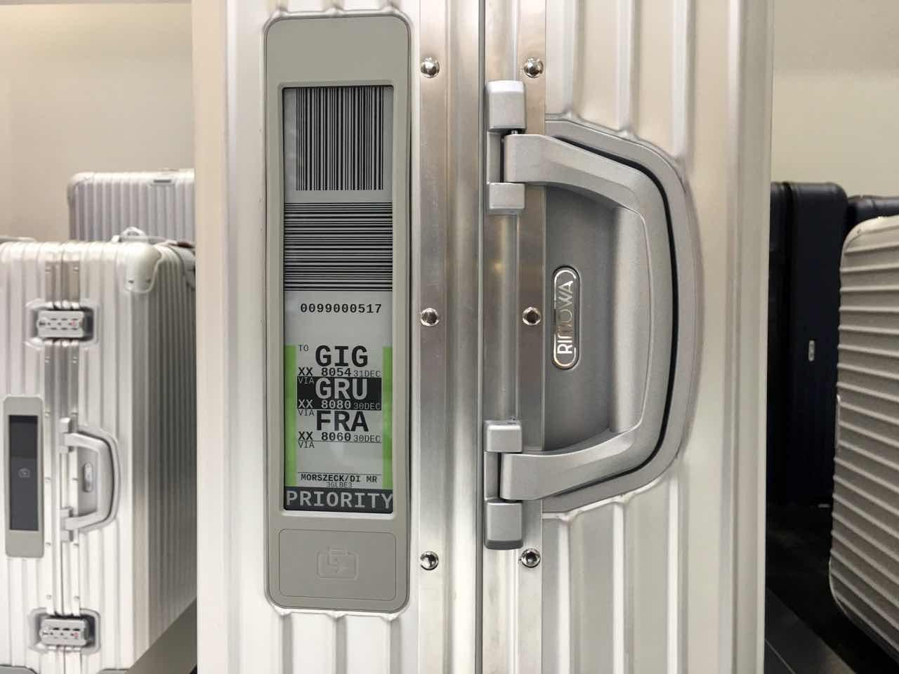 RIMOWA推电子标签行李箱:不去机场也可以办托运
