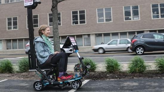 代步电动三轮车也能实现无人驾驶