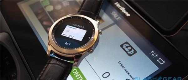 Gear S3智能表已支持所有安卓机使用三星Pay