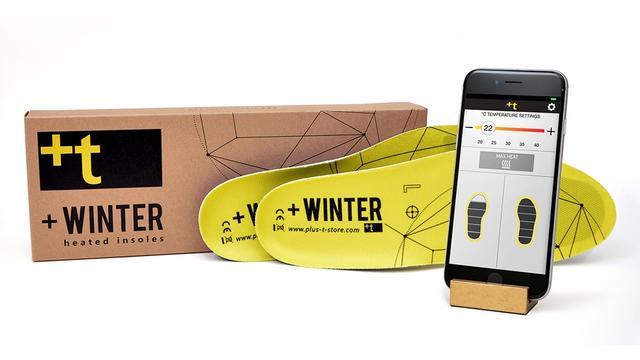 给力的鞋垫!冬天自动加热+手机操控