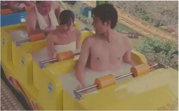 见过在旋转木马 过山车 摩天轮上泡温泉的吗?他们做到了