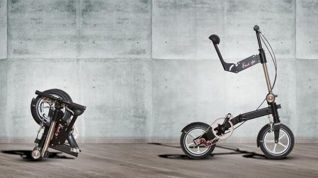 就是它了!世界上最紧凑小巧的折叠自行车