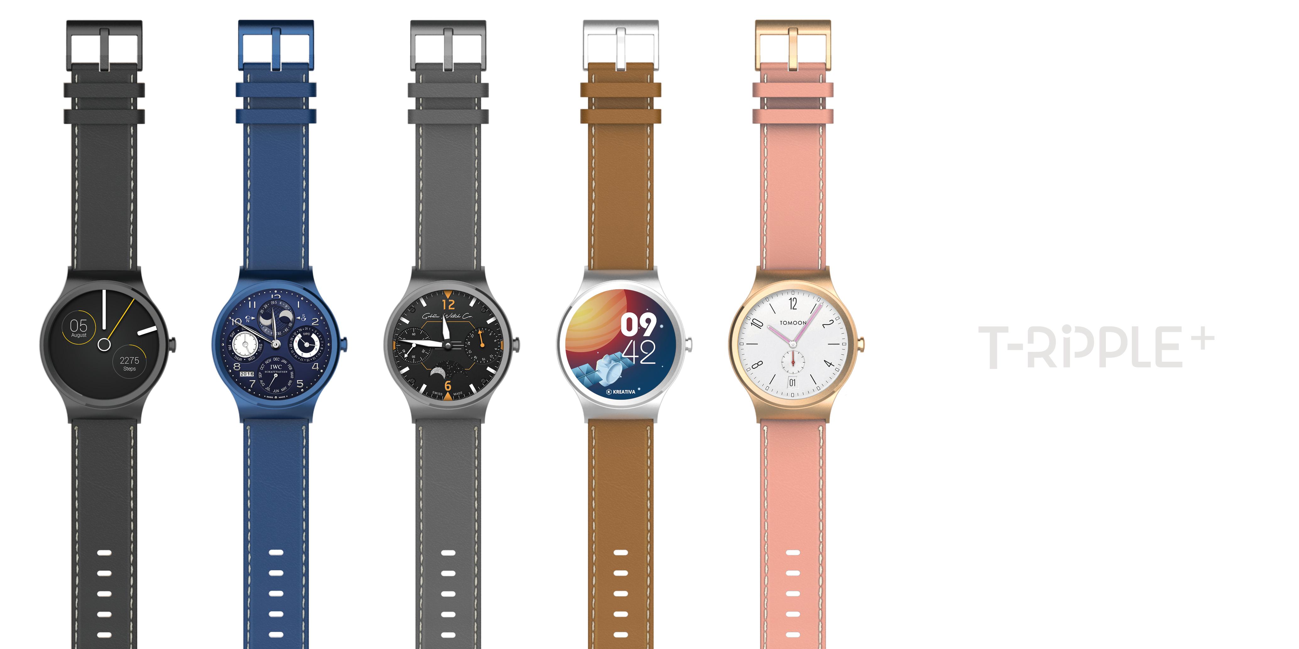 土曼科技T-RIPPLE+智能手表即将登陆京东首发