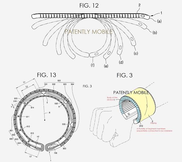 三星新款智能手表专利曝光 这两项创新很抢眼