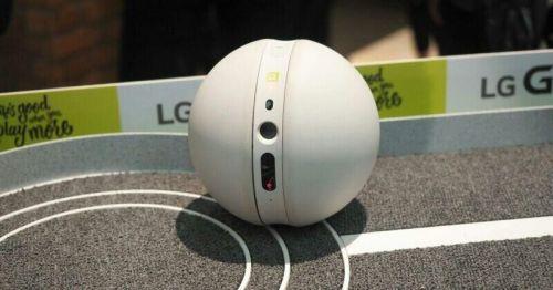 LG将在CES上公布首款智能机器人