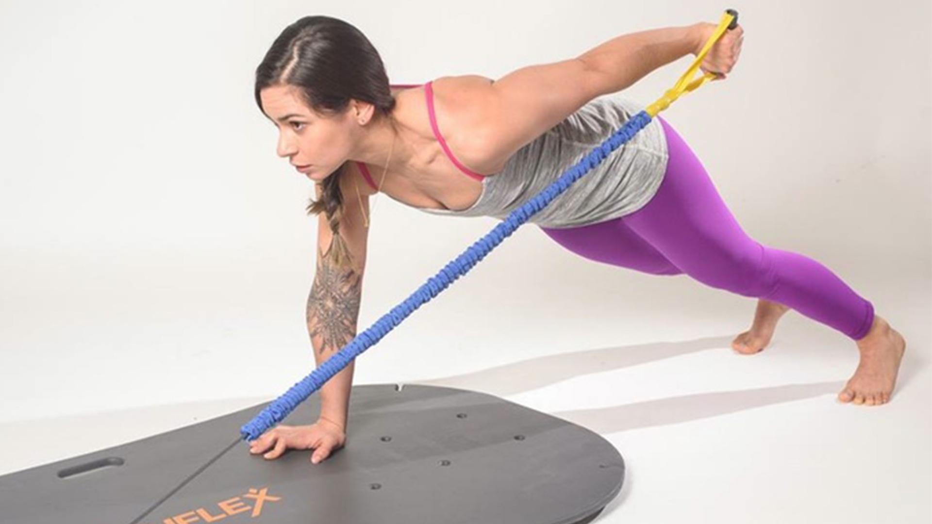 【智能界大百科】多功能健身板NOUFLEX做你的私人健身教练