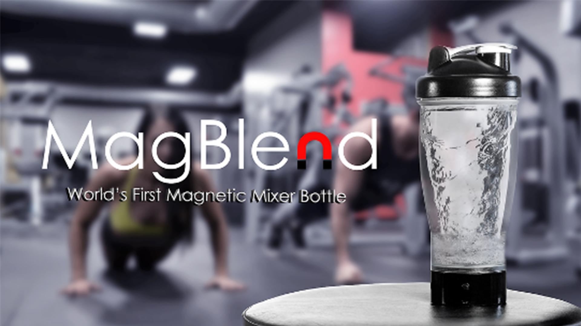 【智能界大百科】懒人福音:MagBlend自动搅拌水杯