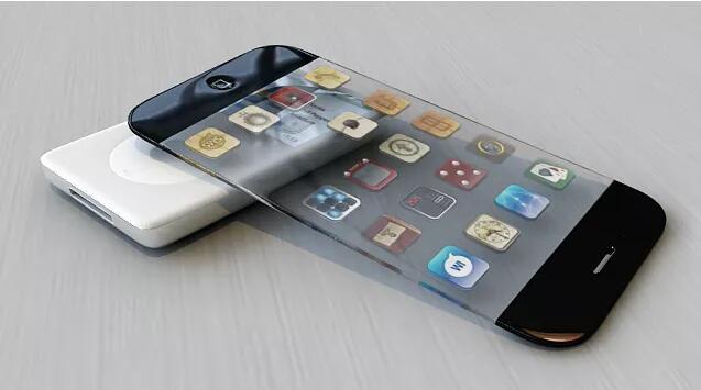 透明iPhone 苹果预用透明彩色屏幕面板