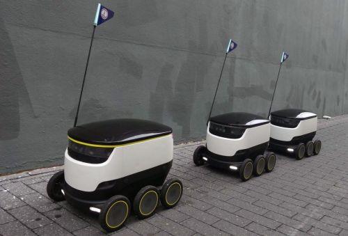 机器人送餐已在美国进行测试 不久将成现实