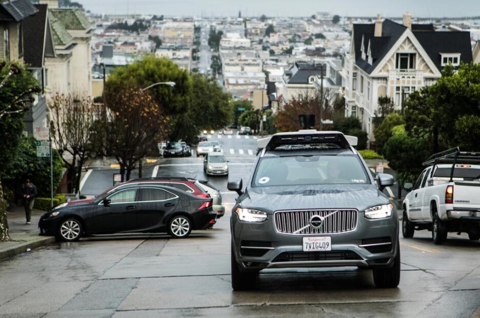 整改完成 Uber自动驾驶汽车重新在旧金山上路