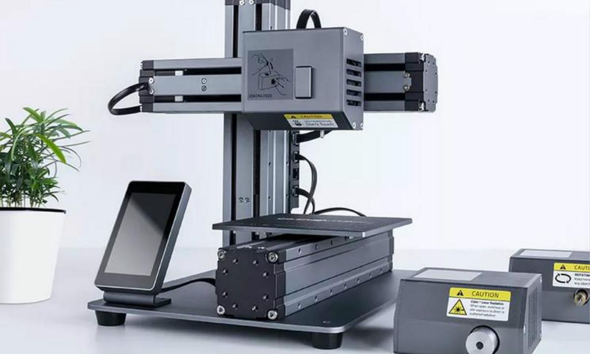 【智能界大百科】低成本模块化3D打印机  数控雕刻多用途