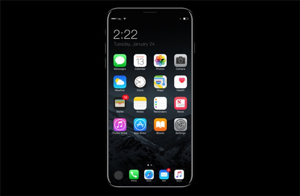 苹果搞不定嵌入式设计,iPhone8或放弃Touch ID传感器