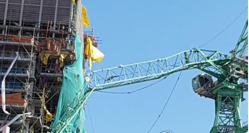 韩三星造船厂起重机发生意外 6人丧生20余伤