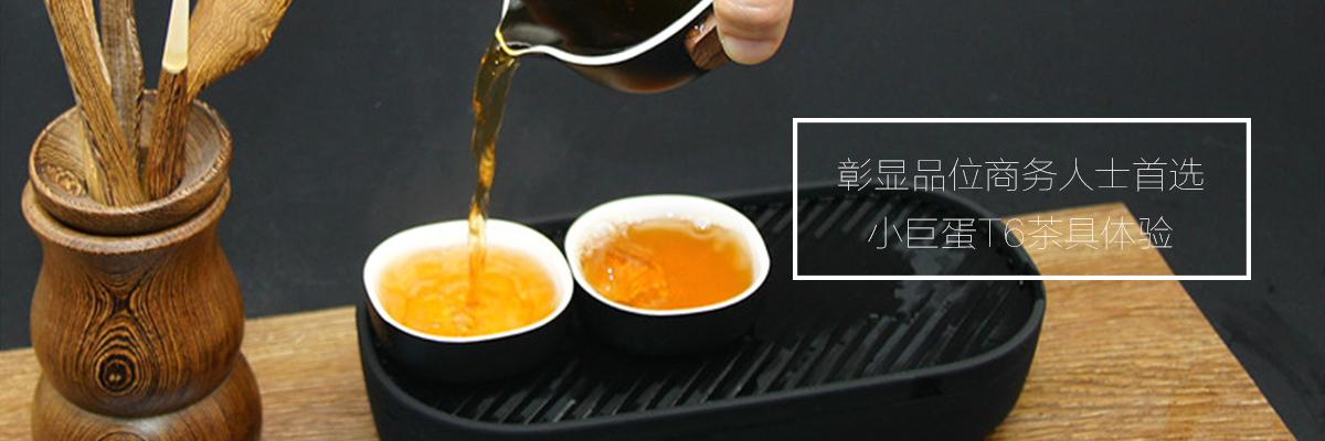 彰显品位商务人士首选——小巨蛋T6轻商务茶具体验