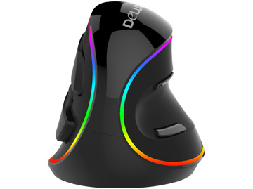 多彩RGB人体工学垂直鼠标免费试用