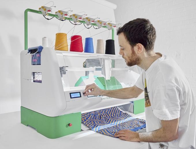 【智能界大百科】想穿啥自己DIY 智能数码针织机打造自己的衣服