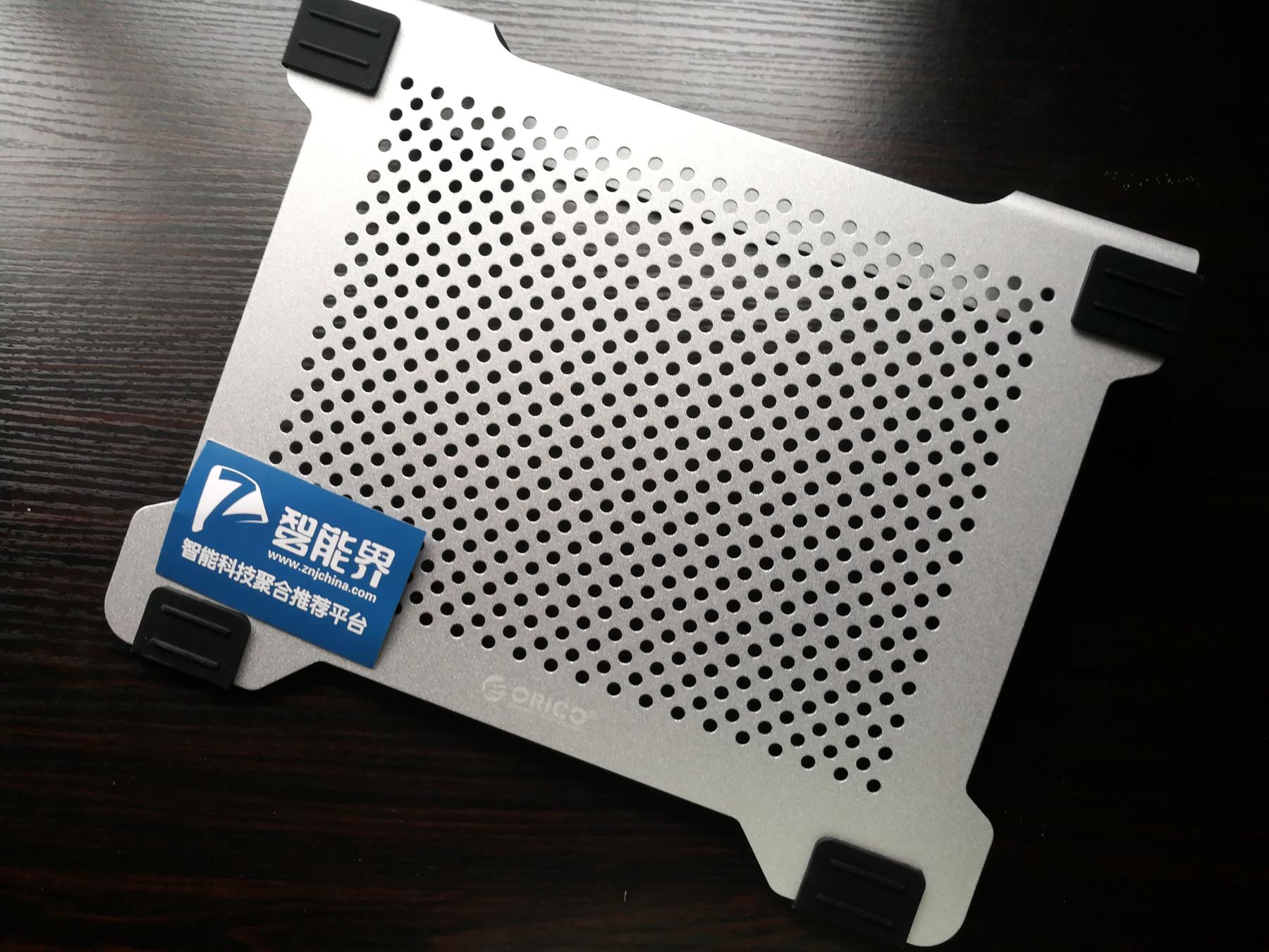 清凉一下,如沐春风-ORICO 全铝DIY双风扇笔记本散热垫体验评测