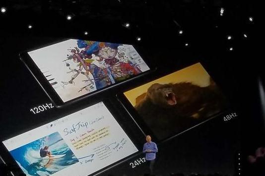 新款iPad Pro发布:窄边框/120Hz屏幕/更像Mac了