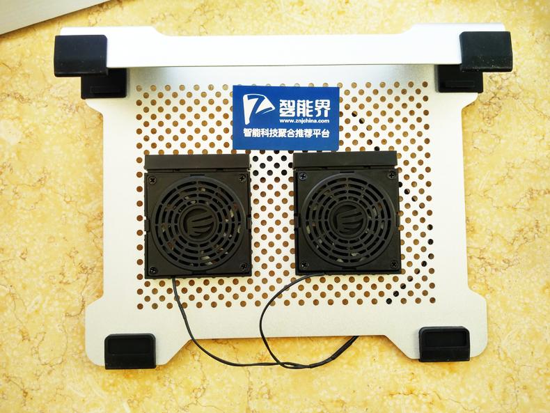 变被动为主动!让本本别再头脑发热——ORICO全铝DIY双风扇笔记本散热垫体验
