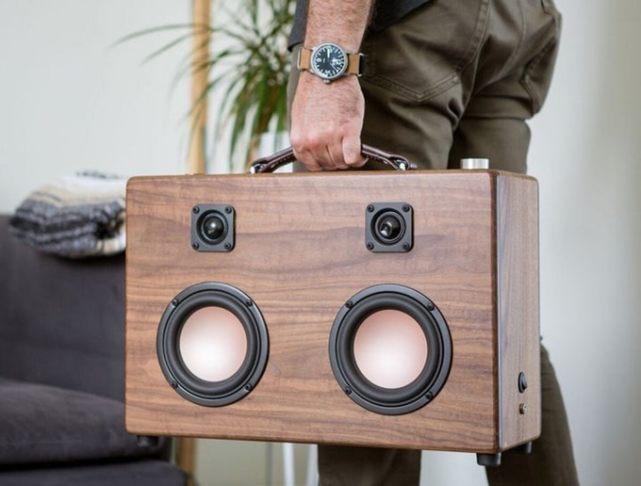 【智能界大百科】Modern Boombox彰显文艺气质的木质无线收音机