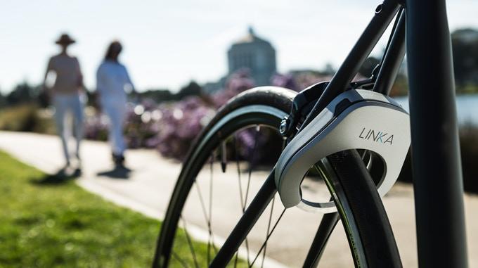 【智能界大百科】Linka智能自行车锁 自行车再也不怕被偷了